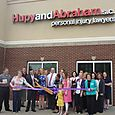 Hupy and Abraham June 6, 2013 Ribbon Cutting