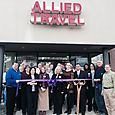 Allied Travel November 8, 2013 Ribbon Cutting