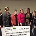 Check Presentation from Johnston Chamber Spooktacular 5k fun run December 9, 2013