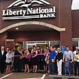 Liberty National Bank Ribbon Cutting June 24, 2015