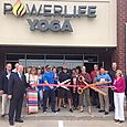 Power Life Yoga Ribbon Cutting June 2, 2015